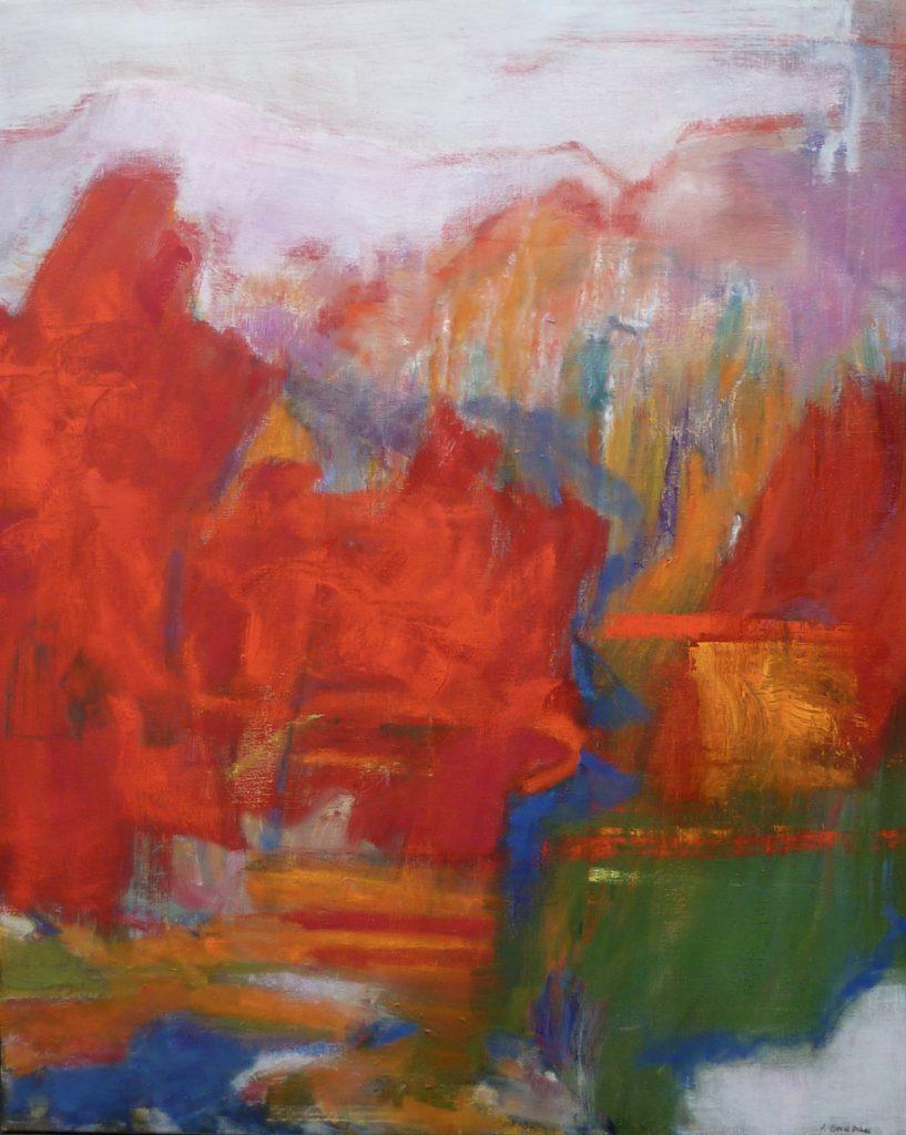 Thème de paysage : l'abstraction lyrique